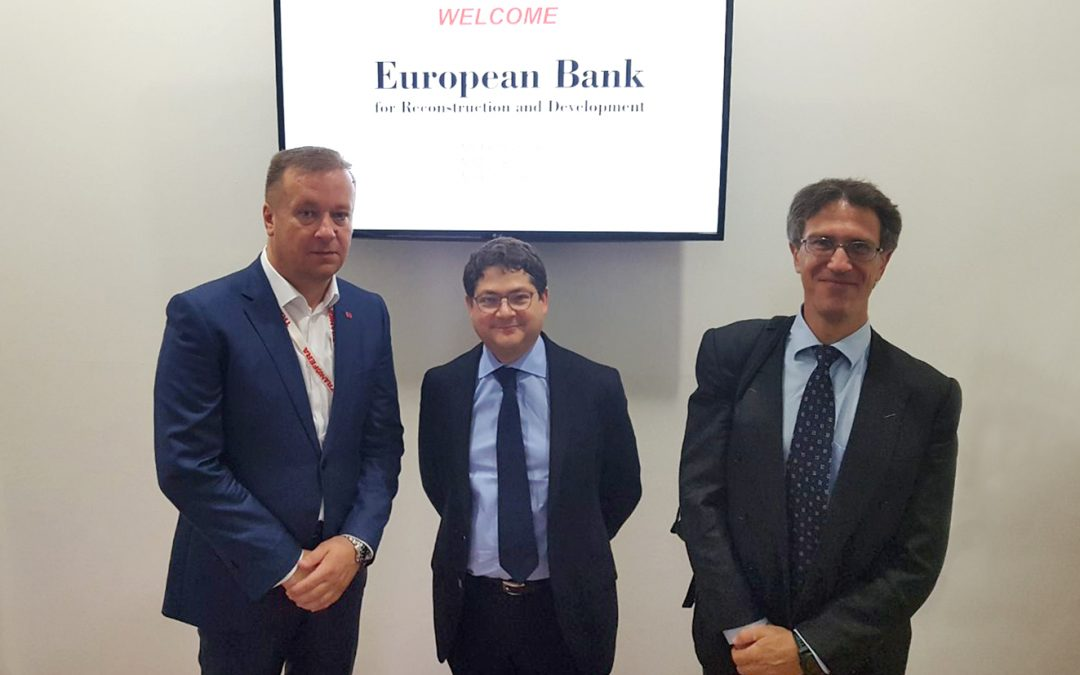 Vice President of EBRD visited Transfera