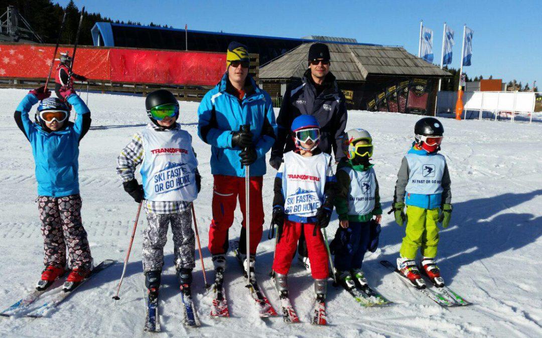 Transfera Sponsor des Belgrader Ski-Klubs