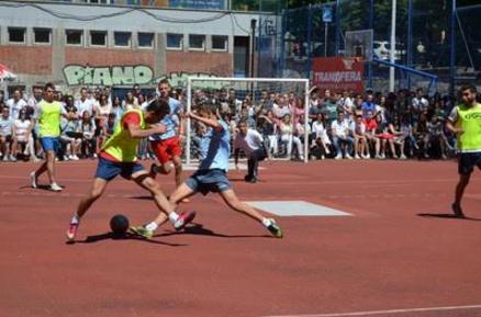 Transfera hat die vierte Gymnasiade unterstützt