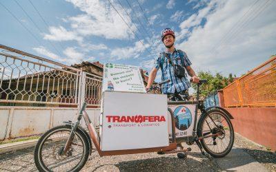 Aleksa i Transfera na zadatku besplatnih dostava