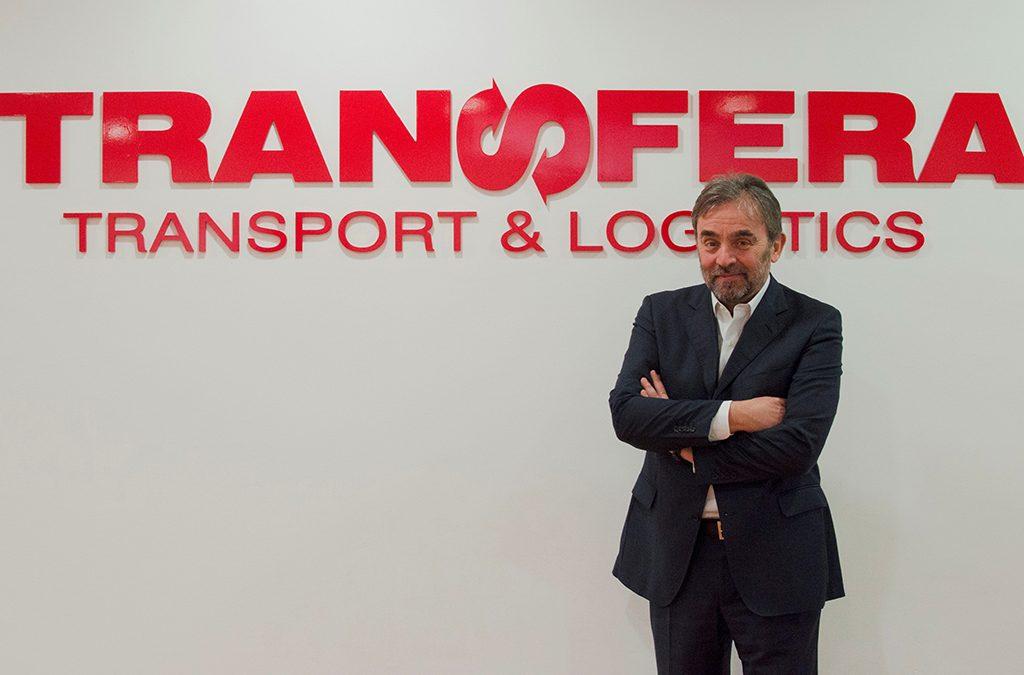 Claudio Rossi trat der firma Transfera bei