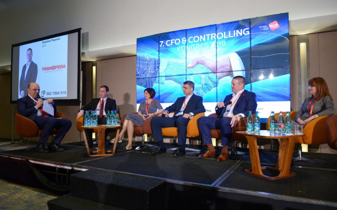 Vladimir Popović, Financial Director of Transfera at the 7th CFO & Controlling Congress