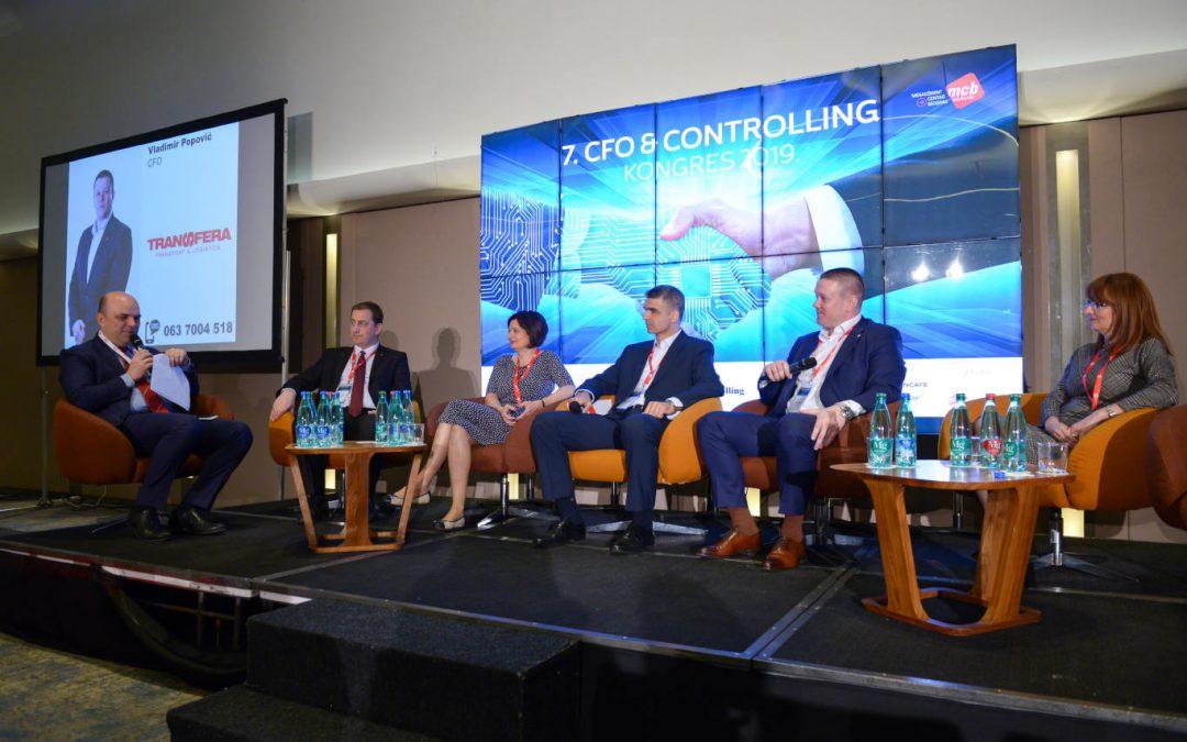 Vladimir Popović, finansijski direktor Transfere na 7. CFO & Controlling kongresu