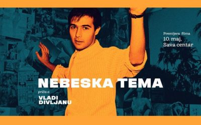 "Transfera as an honorable sponsor of the film ""Nebeska tema"" – a story about Vlada Divljan"