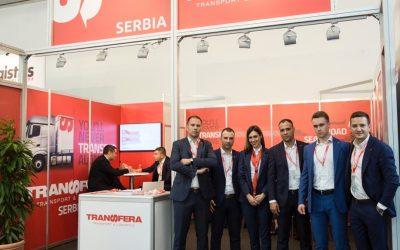 "Transfera at the leading world fair ""Transport Logistics"" in Munich"