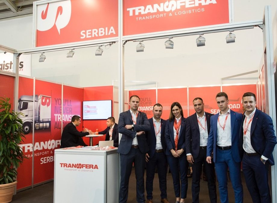 "Transfera at the leading world fair ""Transport Logistics"" in Munich"