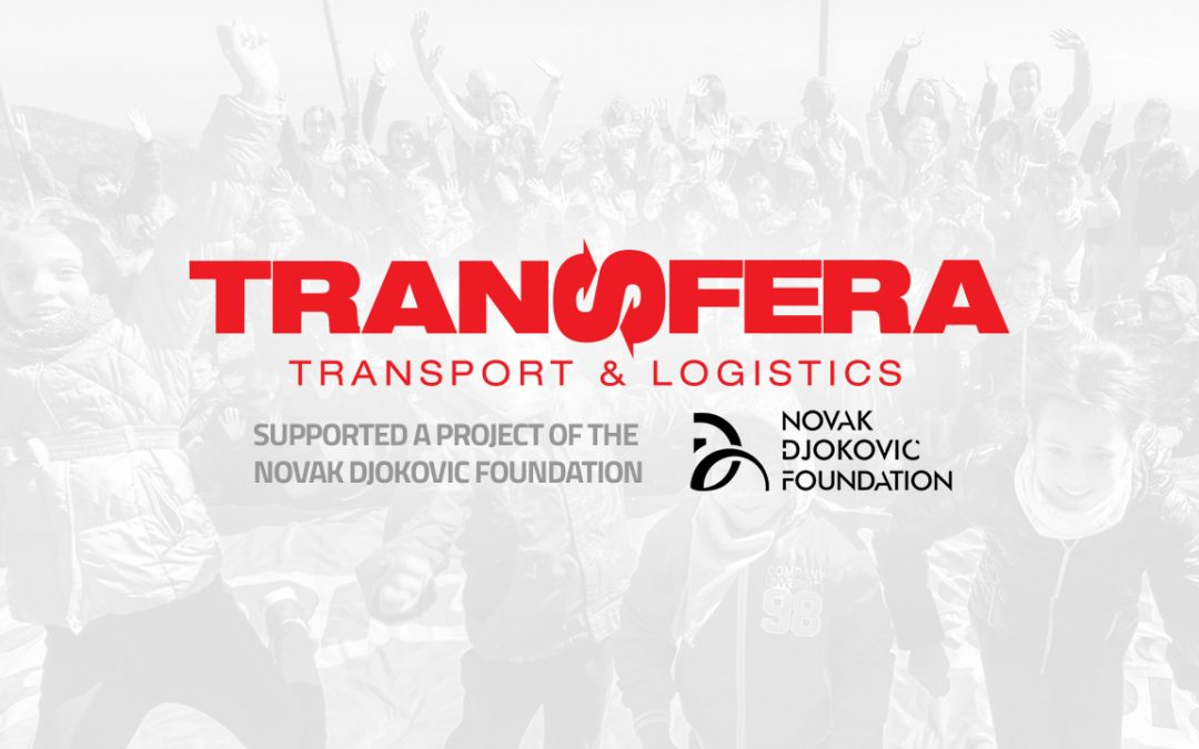 Transfera and the Novak Djokovic Foundation together for the children of Svilajnac