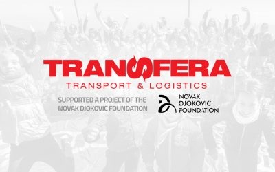 Transfera and the Novak Djokovic Foundation together for the children of Svilajnac