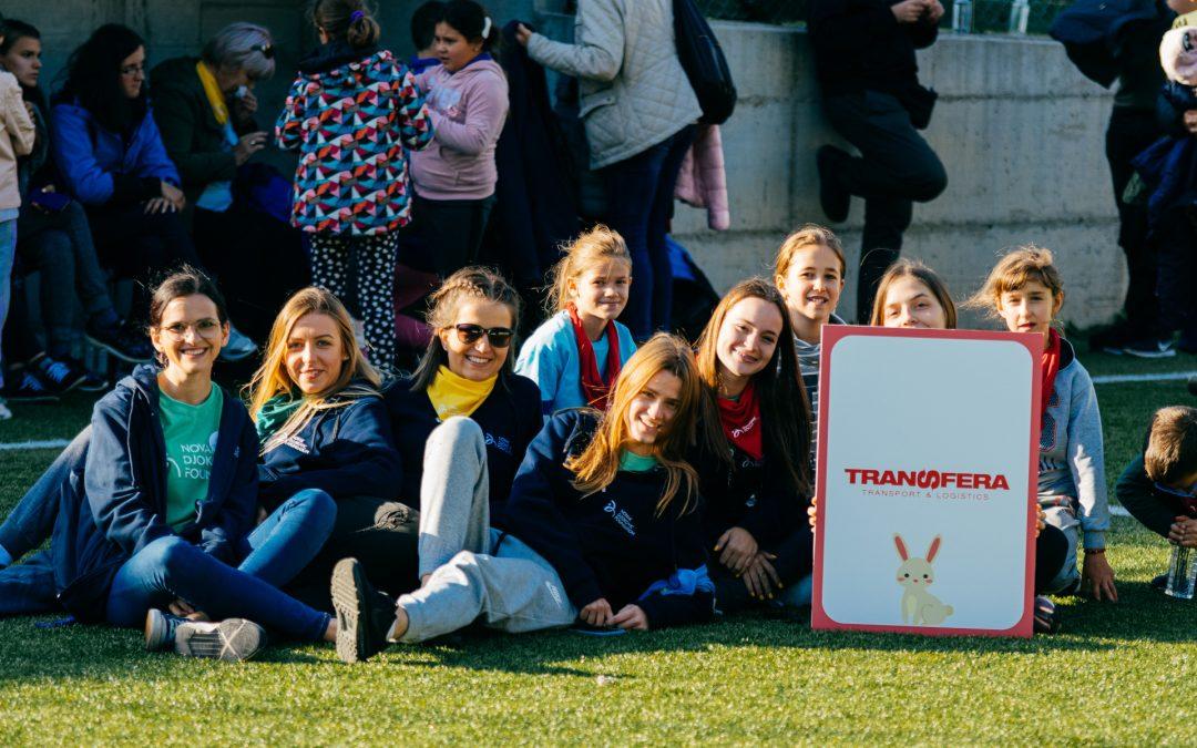 Transfera assisted in the organization of friendship camp Drugarijada