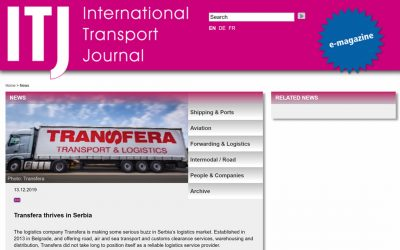 The European success format – International Transport Journal article based on the rise of Transfera