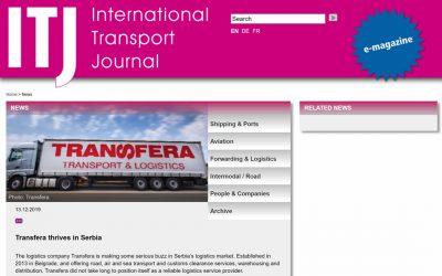Formato europeo del successo – International Transport Journal sull' ascesa della Transfera