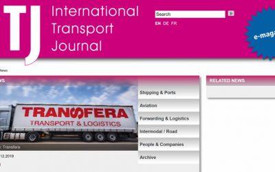 Das europäische Erfolgsformat – Internationale Transportzeitschrift Journal über den Aufstieg von Transfera