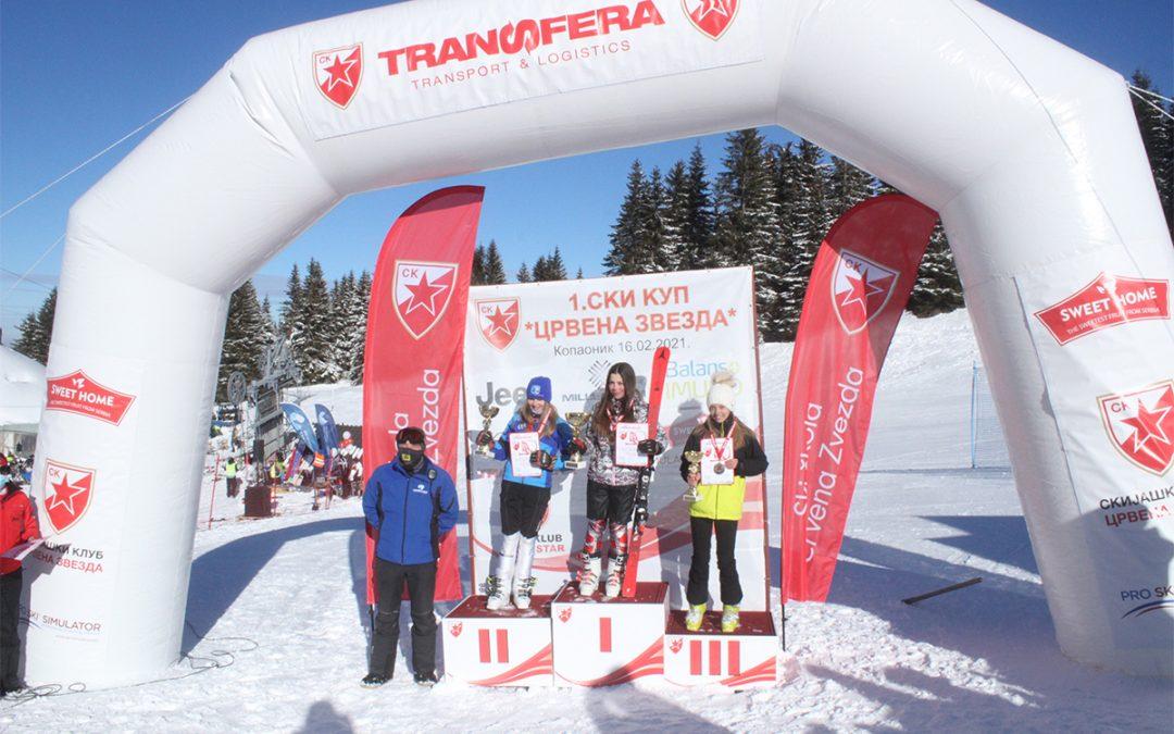 """Der Transfera unterstützte das Kinder-Skirennen """"Red Star Cup"""" auf Kopaonik"""