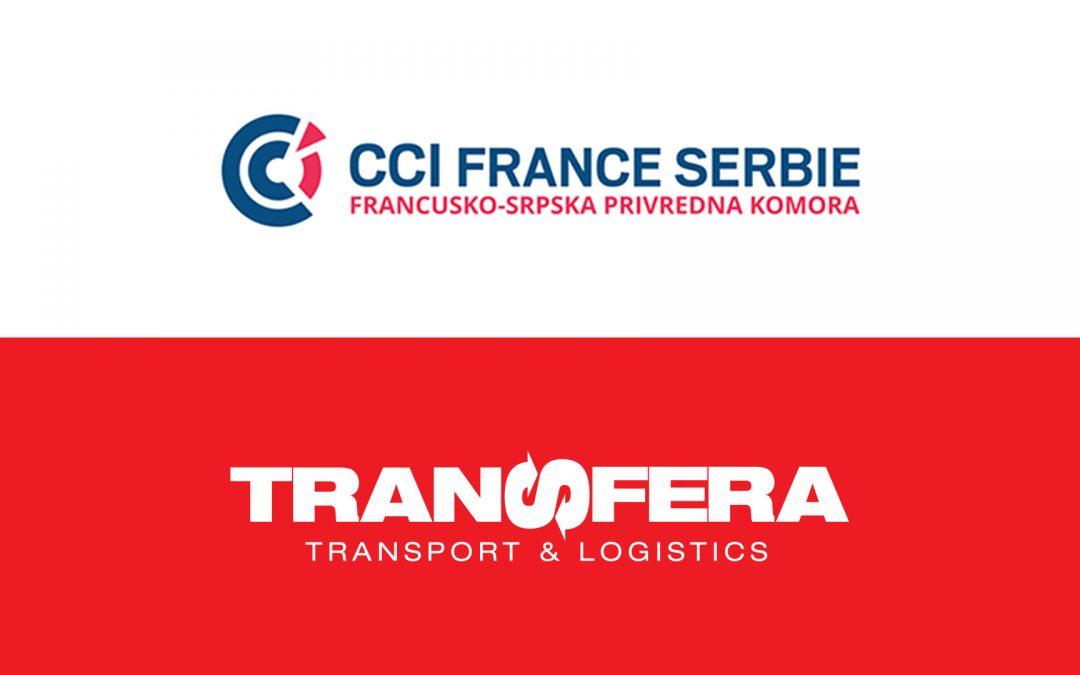 Ufficializzata la collaborazione tra la Transfera e la Camera di commercio franco-serba