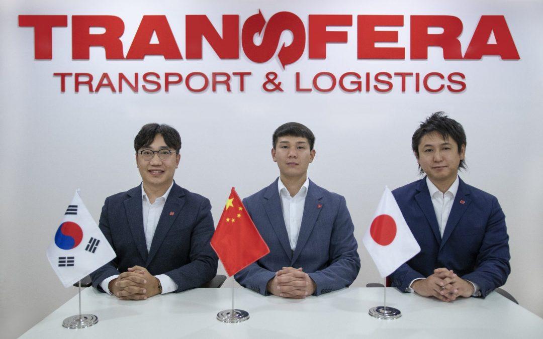 Transfera's trio for the Asian market